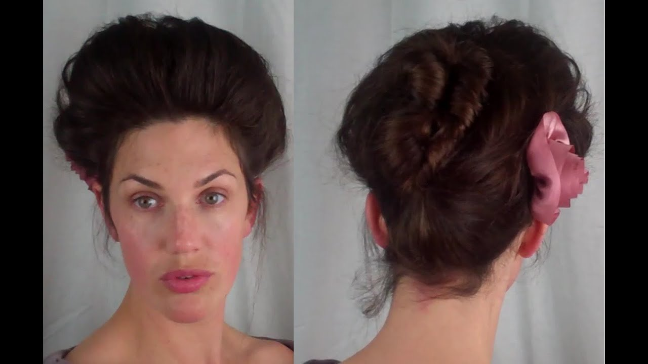 New How To Edwardian Psyche Knot Hair Tutorial 1900 S 1910 Ideas With Pictures