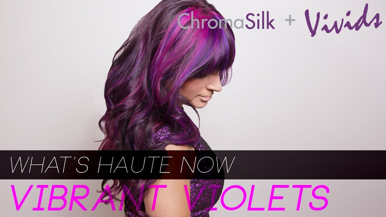 New Pravana 180 What S Haute Now Vibrant Violets Purple Hair Color How To Youtube Ideas With Pictures