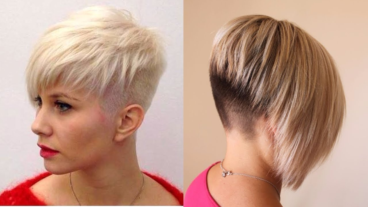 New Short Nape Haircuts Youtube Ideas With Pictures