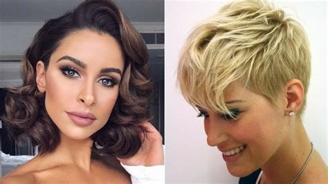 New 2019 Haircut Trends Bobs Pixiecuts More Youtube Ideas With Pictures