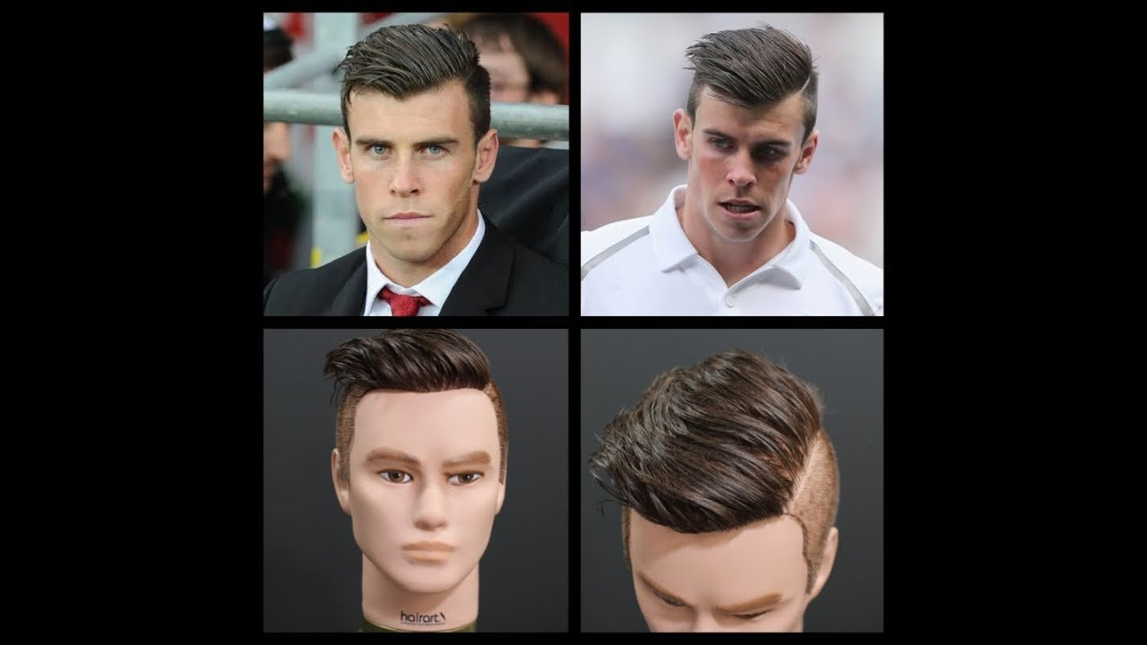 New Gareth Bale Inspired Haircut Tutorial Thesalonguy Youtube Ideas With Pictures