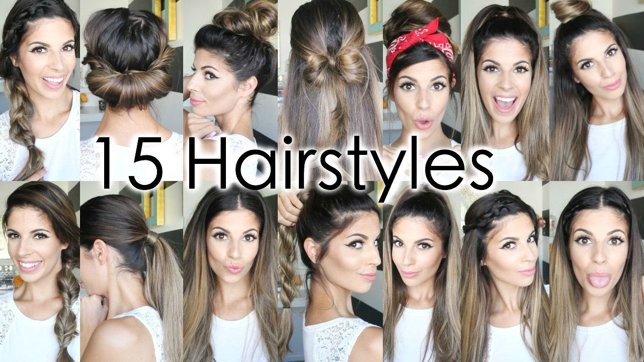 New 15 Back To School Heatless Hairstyles Youtube Ideas With Pictures