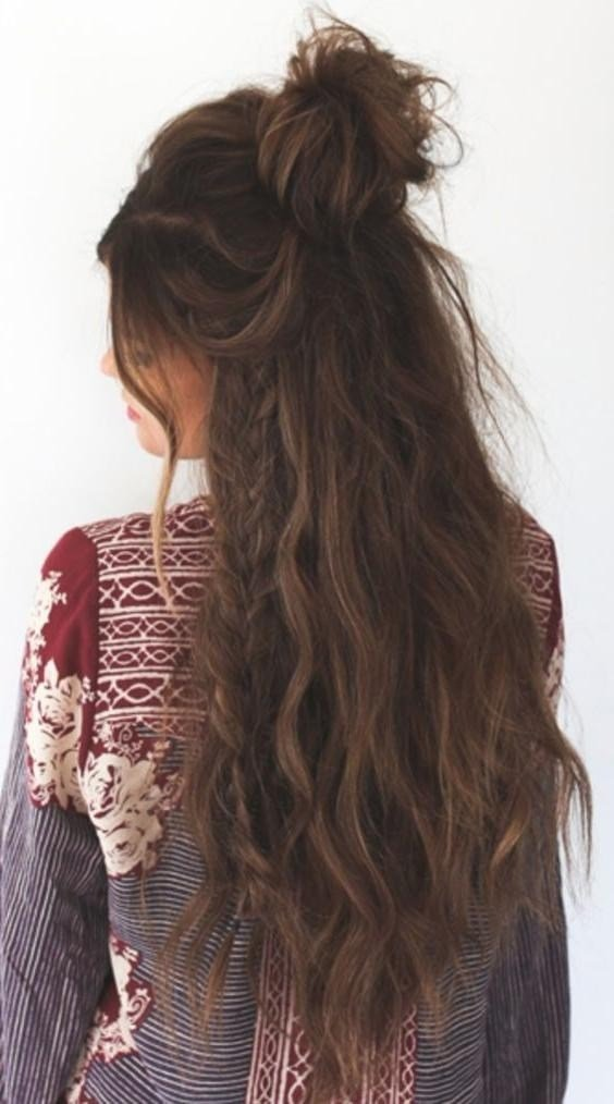 New 2019 Latest Boho Long Hairstyles Ideas With Pictures
