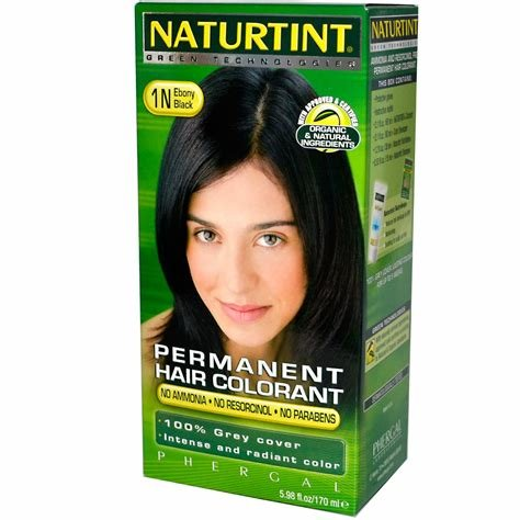 New Naturtint Naturtint 1N Black Ebony Hair Color 1Xkit Ideas With Pictures