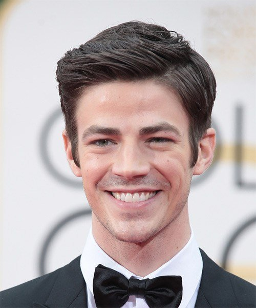 New Grant Gustin Formal Short Straight Hairstyle Ideas With Pictures