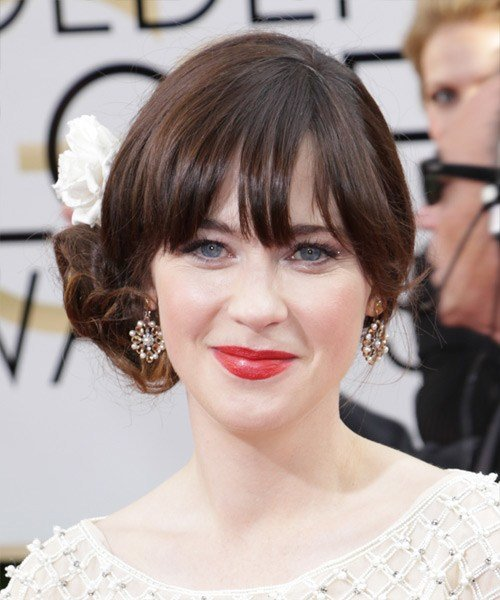 New 14 Zooey Deschanel Hairstyles Hair Cuts And Colors Ideas With Pictures
