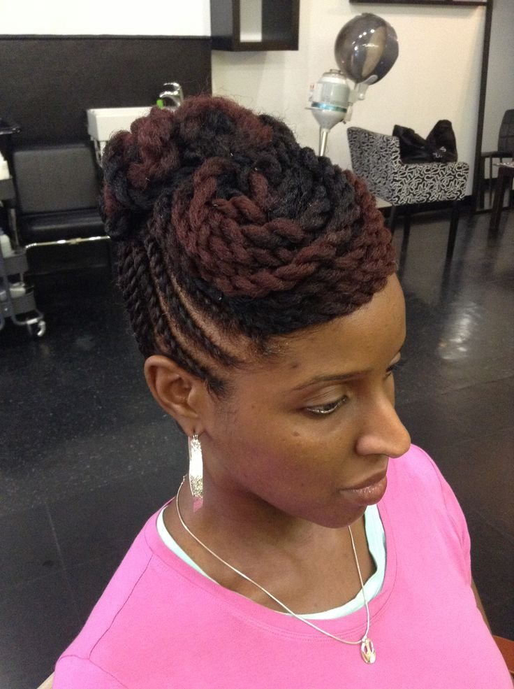 New Twist Hairstyles For Natural Hair Twist Braided Styles Ideas With Pictures