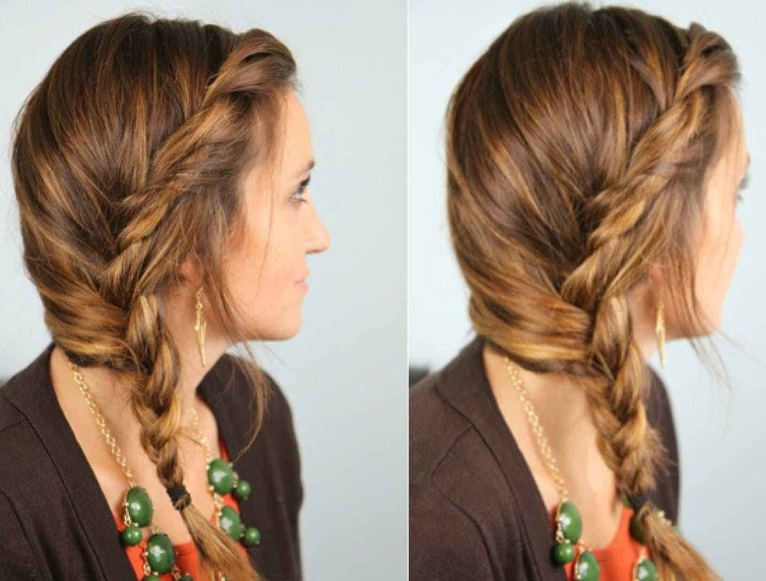 New Quick Easy Hairstyles For All Hair Lengths Brit Co Ideas With Pictures