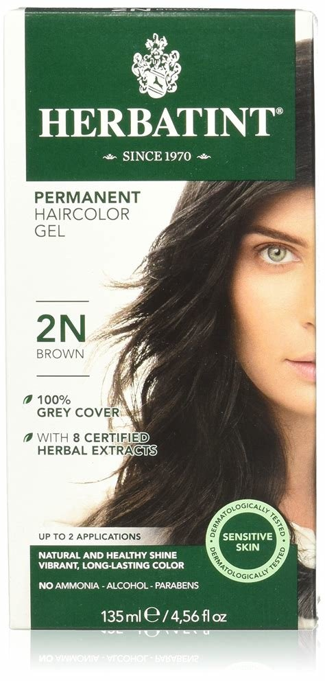 New Amazon Com Herbatint Permanent Herbal Haircolour Gel 3N Ideas With Pictures