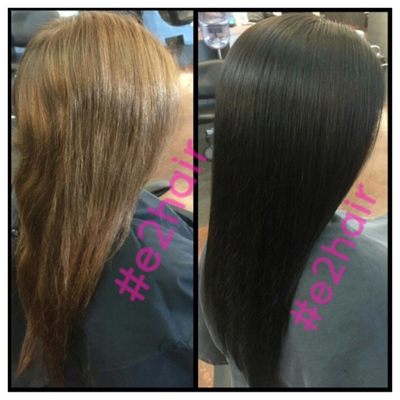 New Glossy Chocolate Brown Formula Hair Color Modern Salon Ideas With Pictures