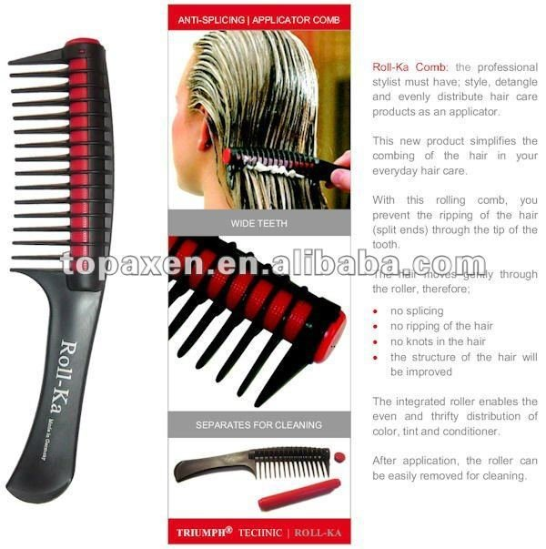 New Roll Ka Comb Anti Splicing Hair Detangling Dye Color Ideas With Pictures