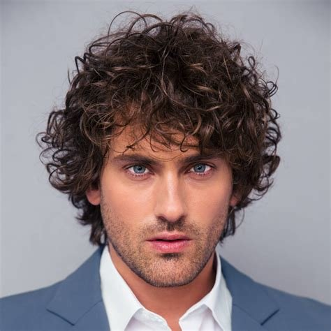 New 40 Modern Men S Hairstyles For Curly Hair That Will Ideas With Pictures