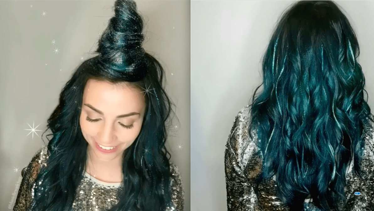 New This Glitterage Dye Job Is A Must See Hair Treatment Ideas With Pictures