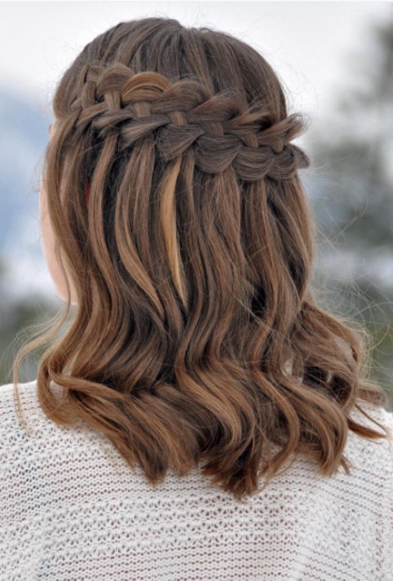 New Long Bob Braid Brides Ideas With Pictures