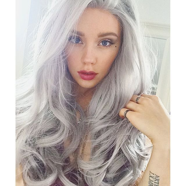 New 16 Ways To Rock The Gray Hair Color Trend Ideas With Pictures