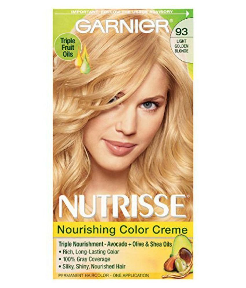 New Garnier Temporary Hair Color Golden Blonde 1 Gm Buy Ideas With Pictures