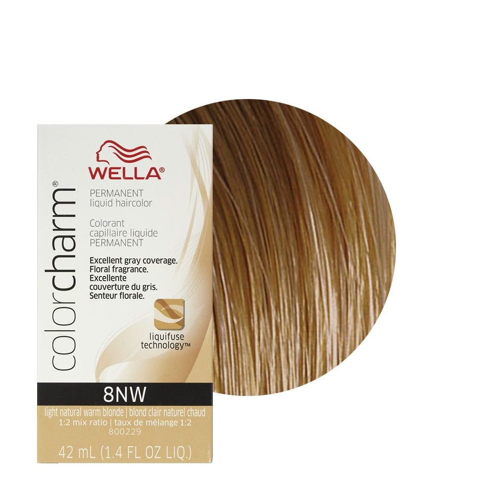 New Wella Color Charm Liquid Creme Hair Color 8Nw Light Nat Ideas With Pictures