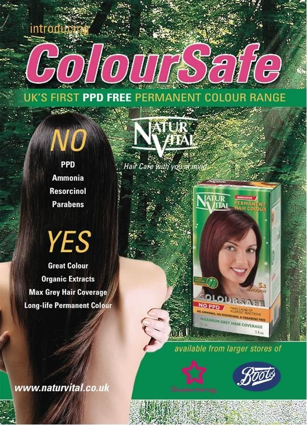New Ppd Free Coloursafe Blonde No 7 Hair Dye Naturvital Ideas With Pictures