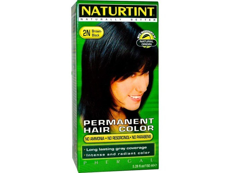 New Naturtint Hair Color Brown Black 2N 5 28 Oz Ingredients And Reviews Ideas With Pictures