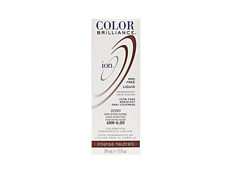 New Ion 6Nn Dark Intense Blonde Permanent Liquid Hair Color Ideas With Pictures