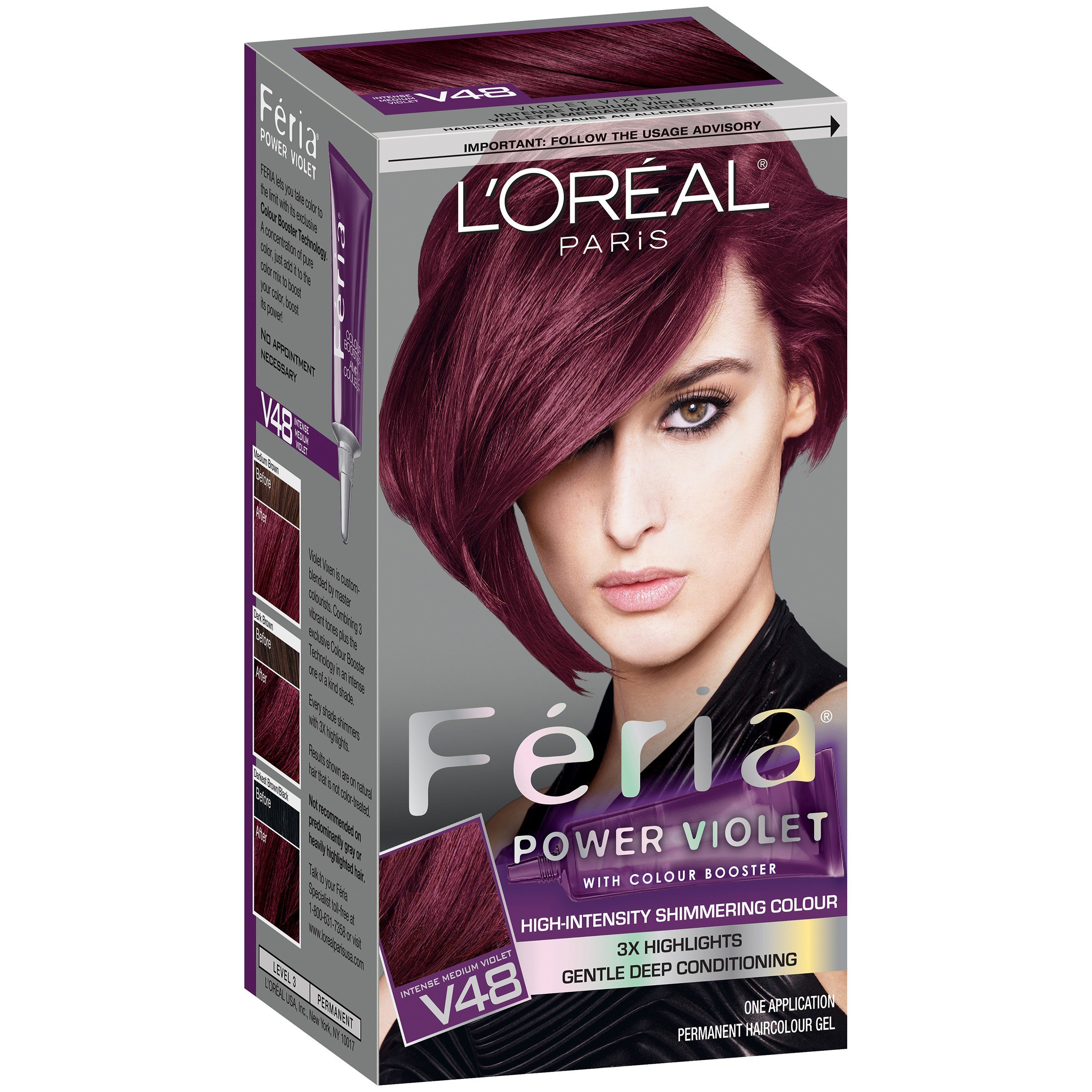 New L Oreal Paris Feria® Power Hair Color Ideas With Pictures