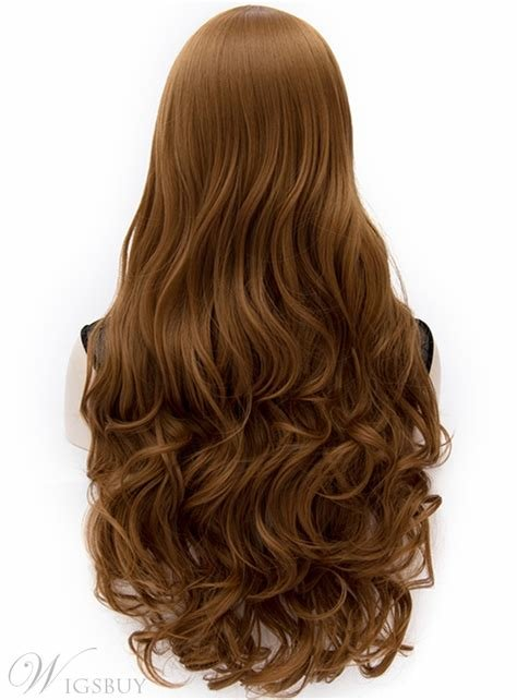 New S*Xy Anastasia Rich Brown Long Wavy Wig With Side Swept Ideas With Pictures