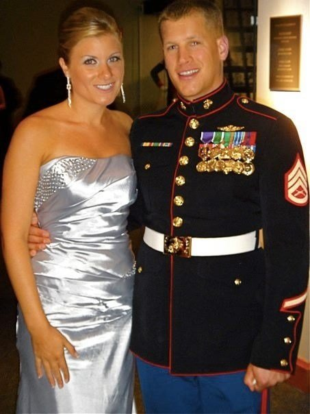 New Marine Corps Ball Gown Simper Fidelis Barracks Blue Ideas With Pictures