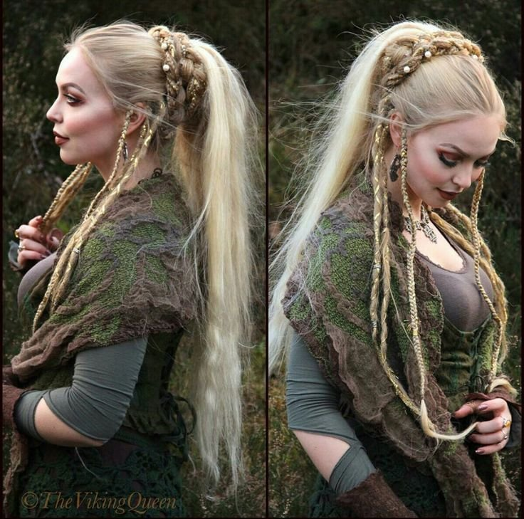 New 424 Best Viking Celtic Medieval Elven Braided Hair Images On Pinterest Ideas With Pictures