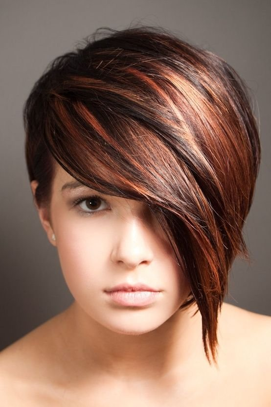 New Asymmetrical Short Hair With Long Bangs Hair Pinterest Bobs The Beauty And High Low Ideas With Pictures
