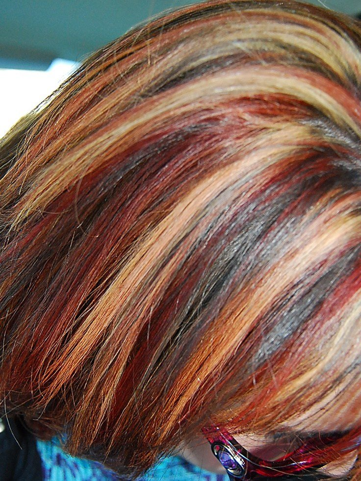New My Multi Color Highlights Ideas With Pictures