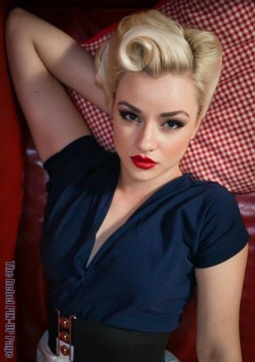 New Victory Rolls Hair Skin Make Up And Nails Pinterest Ideas With Pictures