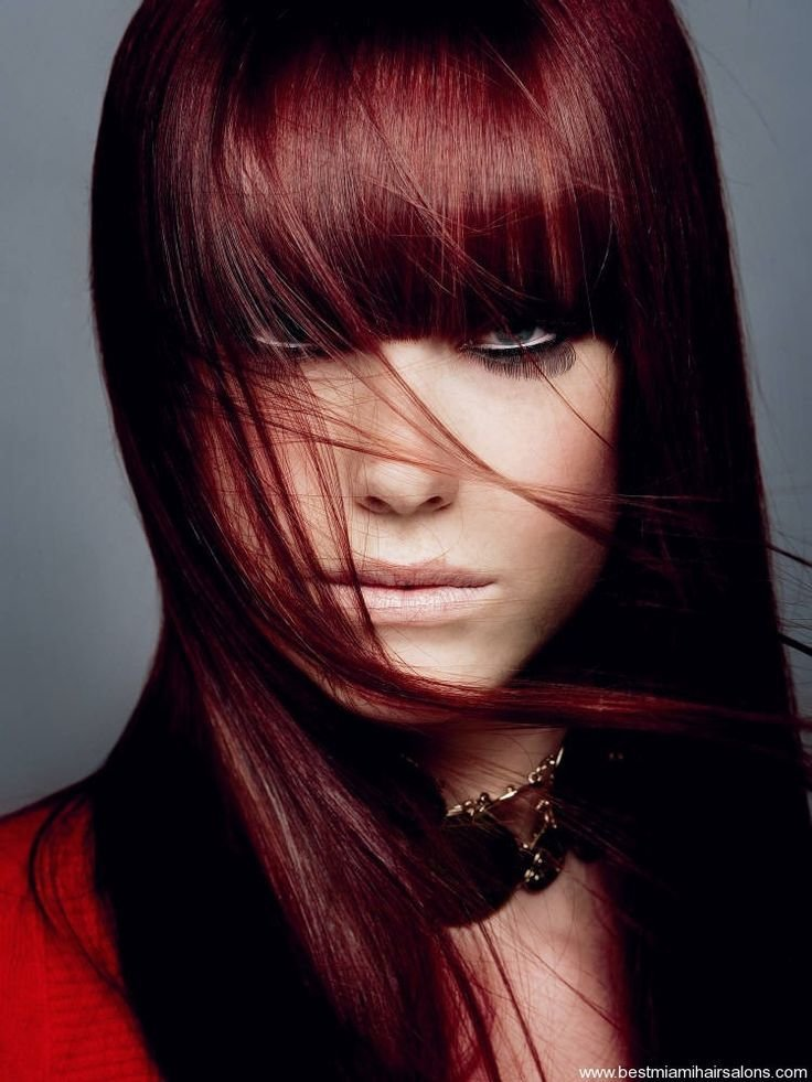 New Black Hair Dye With Red Tint Dark Hair Colors Cute Ideas With Pictures