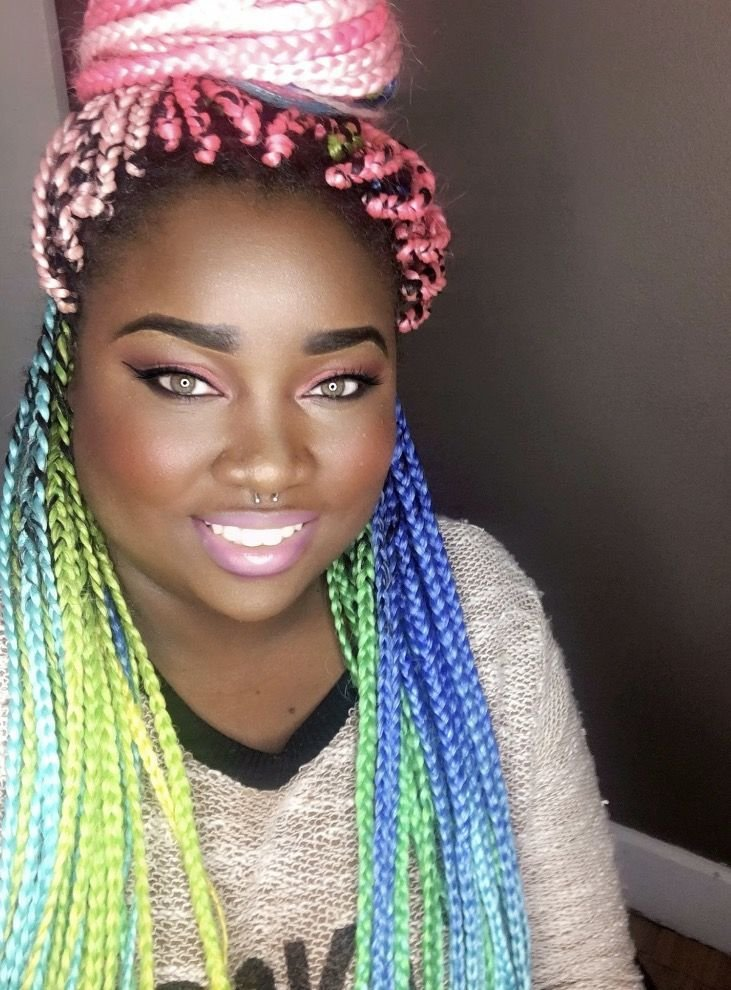 New 318 Best Images About Rainbow Hair On Pinterest Jumbo Ideas With Pictures