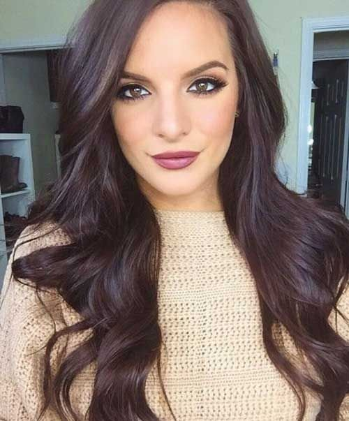 New Chocolate Brown Hair Colour Hair Nails And Makeup Ideas With Pictures