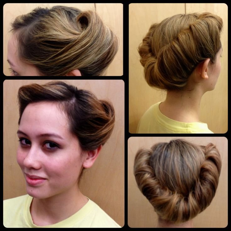 New 17 Best Ideas About 1950S Updo On Pinterest 1950S Hair Ideas With Pictures