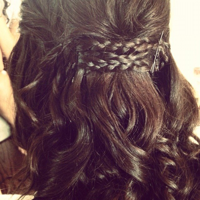 New Prom Hair Curls Braids Formal Semi Formal Hair Ideas With Pictures