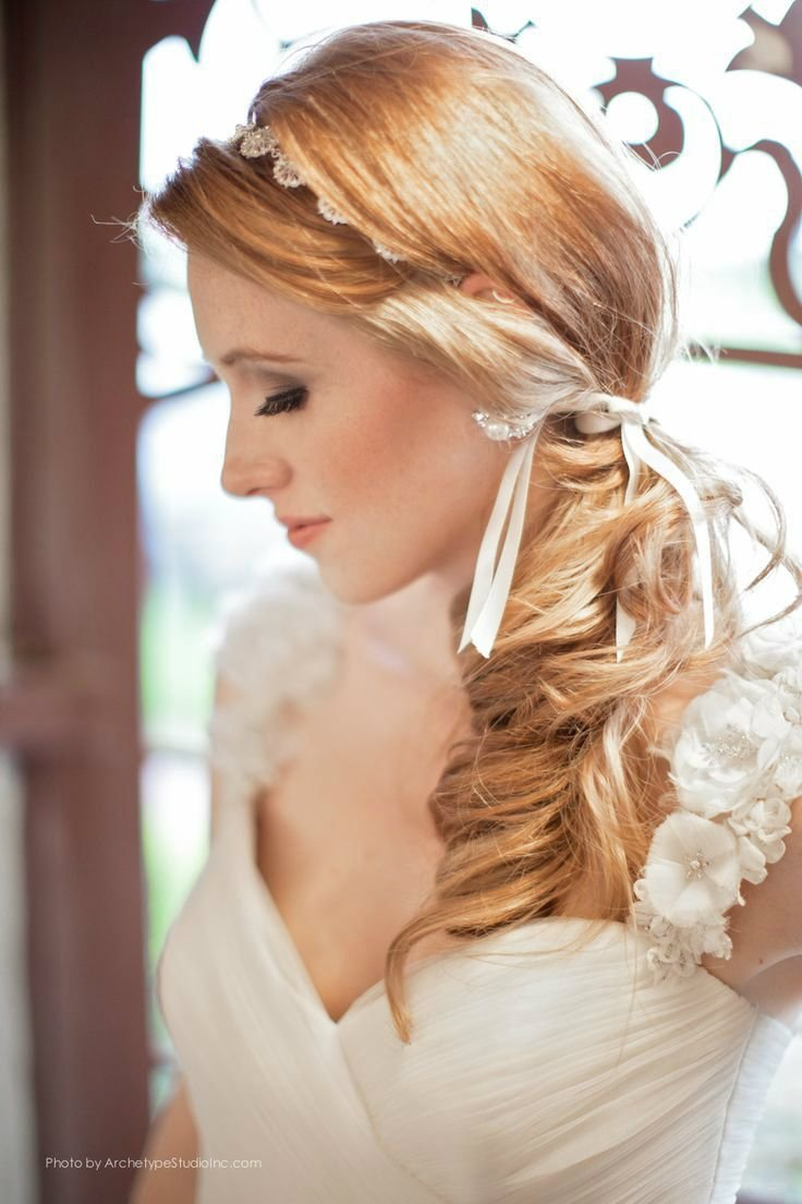 New Low Side Pony Tail Wedding Hair Wedding Pinterest Ideas With Pictures
