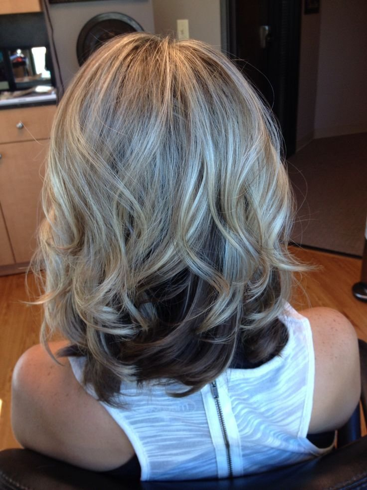 New Blonde Top Dark Underneath Hair By Melissa Lobaito Ideas With Pictures