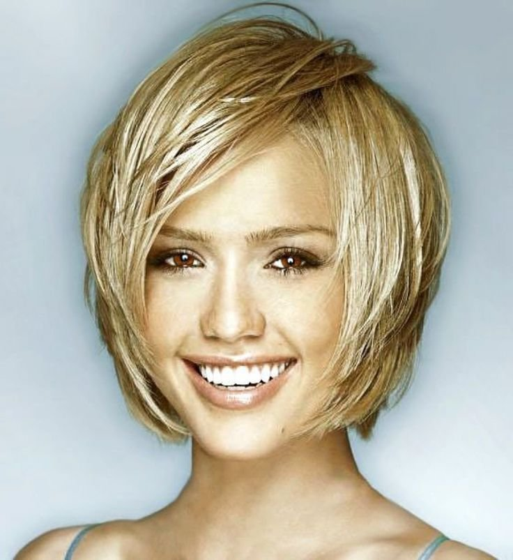 New Hair Cuts On Pinterest Heart Shaped Faces Short Hairstyles Ideas With Pictures