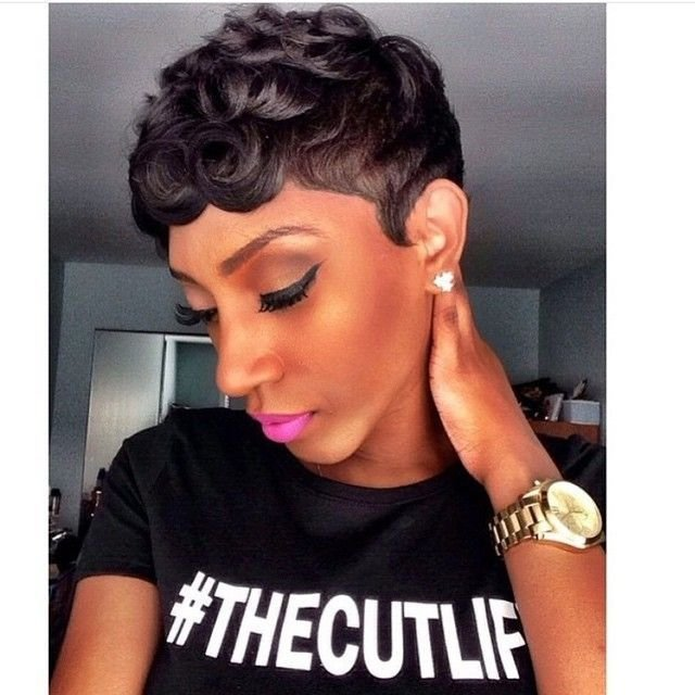 New Loose Pin Curls Short Haircut Pin Curls Short Haircuts Ideas With Pictures