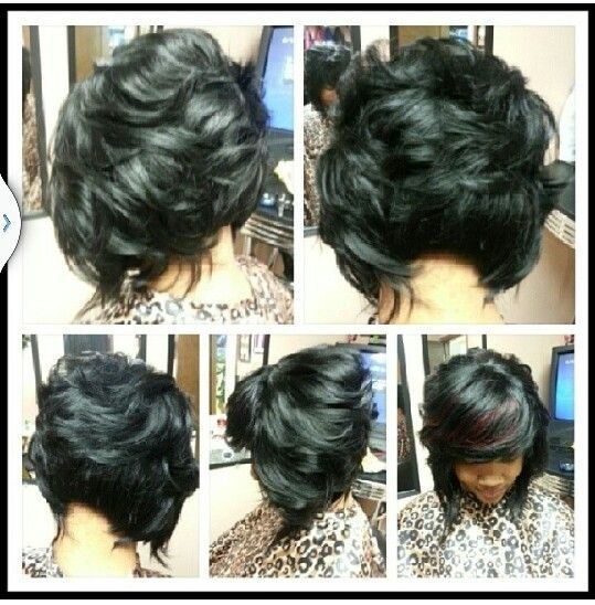 New Best Image Of African American Feathered Bob Hairstyles Ideas With Pictures