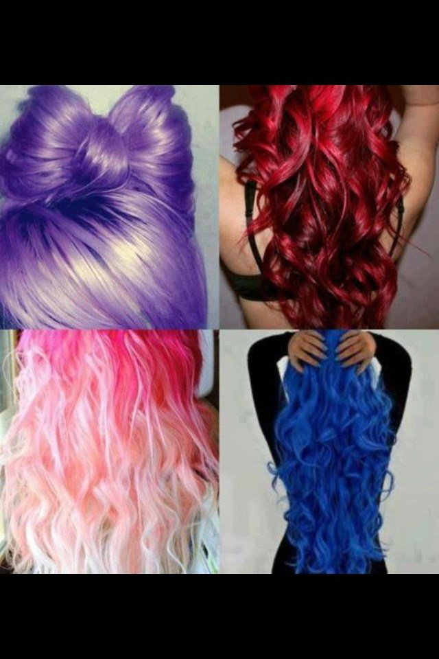 New Different Color Hair Weird Hair Color Pinterest Ideas With Pictures