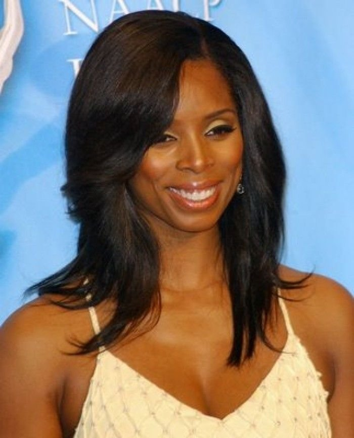New Straight Long Hair With Side Bangs African American Ideas With Pictures Original 1024 x 768