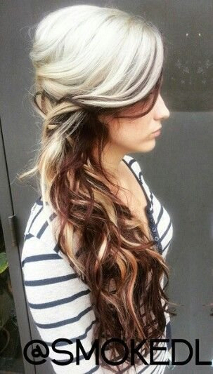 New 25 Best Ideas About Two Toned Hair On Pinterest Plaits Ideas With Pictures