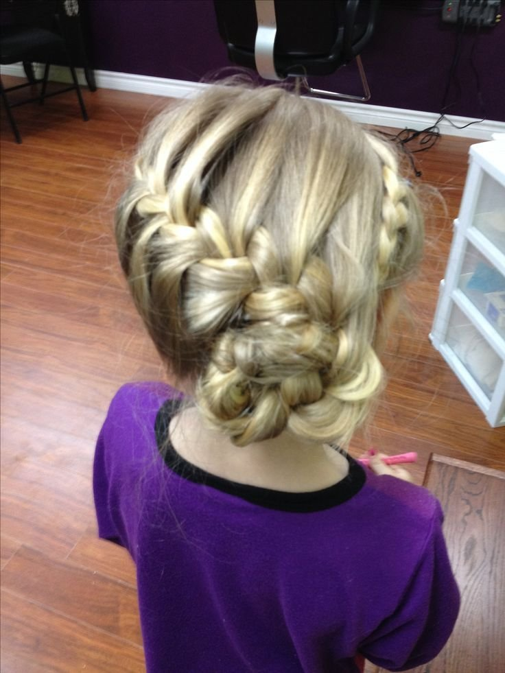 New Cute Little Girls Updo Child Updos Pinterest Updo Ideas With Pictures