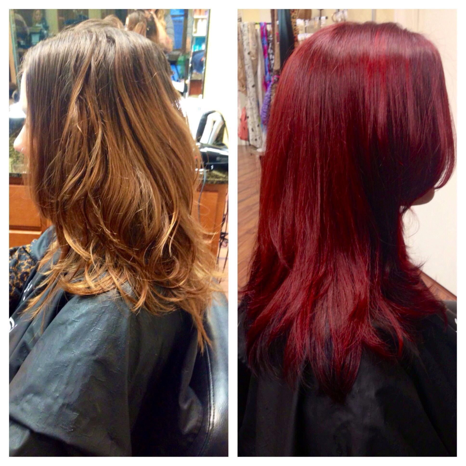 New Color Correction Before And After Brassy Box Color To Ideas With Pictures
