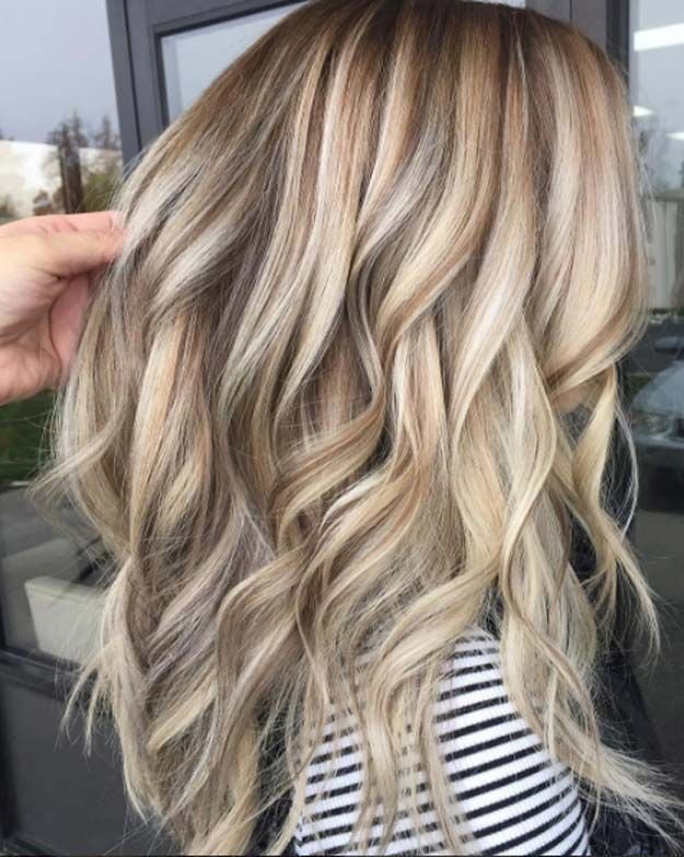 New Blonde Hairstyles With Lowlights Hair Colors Pinterest Ideas With Pictures