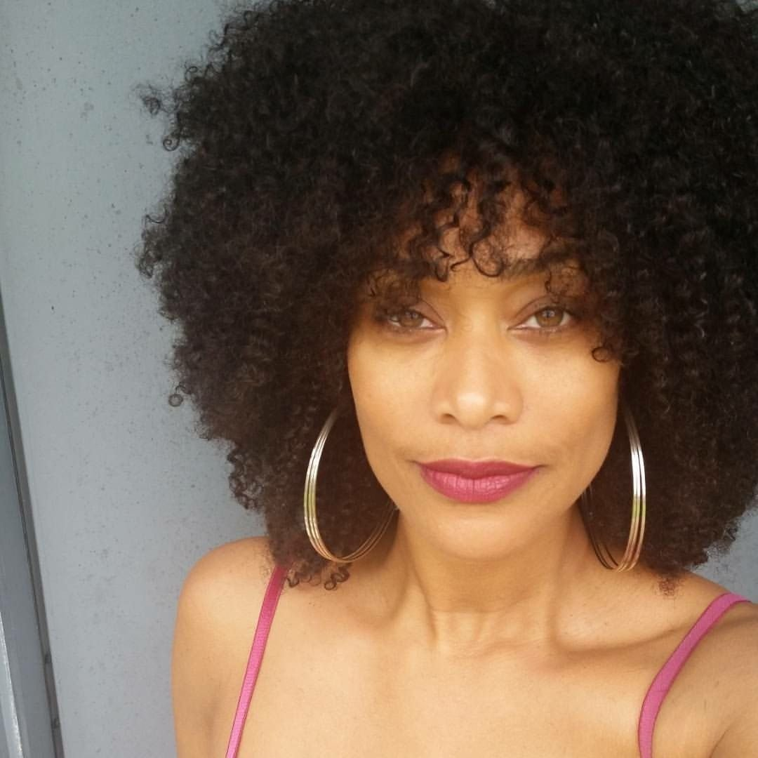 New Tami Roman Showing Her Beautiful Natural Hair Natural Ideas With Pictures