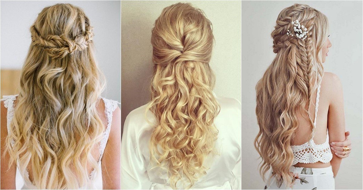 New 30 Must See Half Up Beach Wave Bridal Hairstyles To Ideas With Pictures