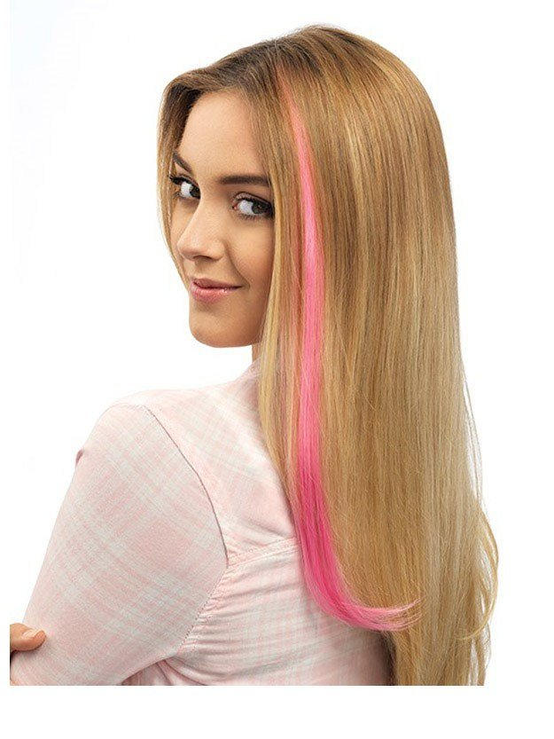 New Color Str*P Extension Pop By Hairdo Ideas With Pictures